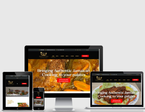Masters Home Touch website revamp by Drewello Digital